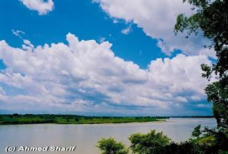 Photo: Mahananda river in Tetulia