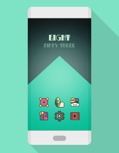 DARKMATTER VINTAGE - ICON PACK app for Android screenshot