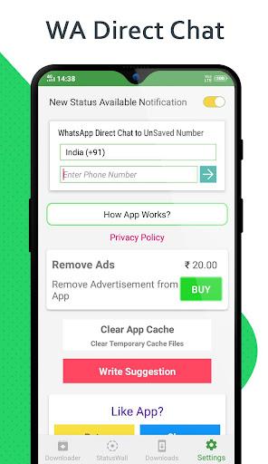 Status Saver - Downloader for Whatsapp 1.82 Screenshots 5