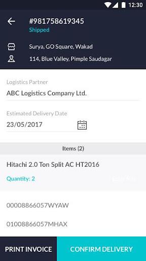 Infinia Warehouse Management system 2.0.4 screenshots 5