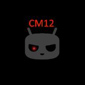 CM12/CM12.1 AngryKat Theme Red