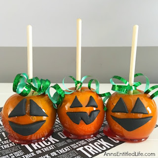 Candy Apple Pumpkins