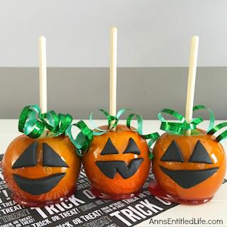 Candy Apple Pumpkins