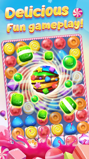 Code Triche Candy Charming - 2019 Match 3 Puzzle Free Games APK MOD screenshots 2