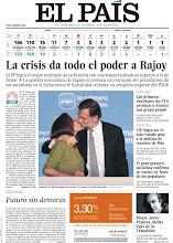 Photo: La victoria de Rajoy en las elecciones generales y el fallecimiento de Javier Pradera, en nuestra portada del lunes 21. Deescárgatela: http://www.elpais.com/static/misc/portada20111121.pdf
