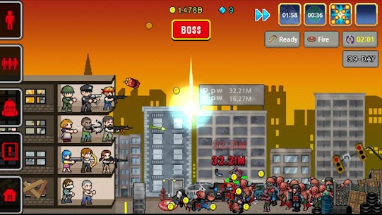 100 DAYS – Zombie Survival Mod Apk (Unlimited Diamonds) 5