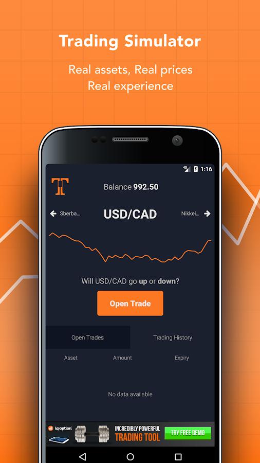 Forex trading simulator app