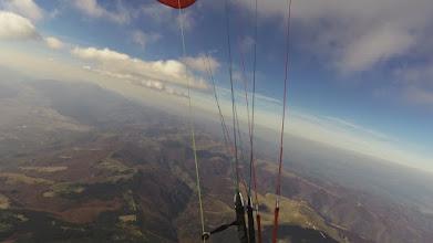 Photo: Сопот, 21.10. - уникален полет високо над най-магнетичната част на Балкана