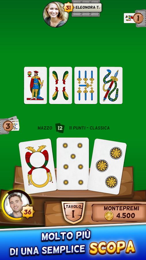 eros annunci gioco carte scopa