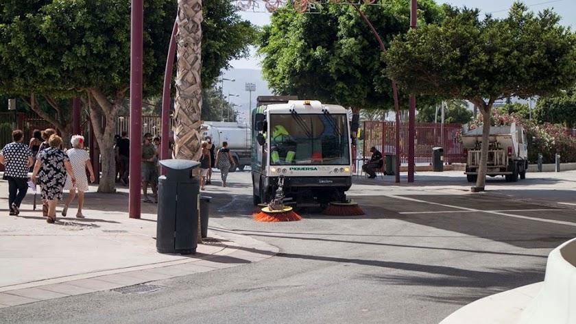 Servicio de limpieza en Almería