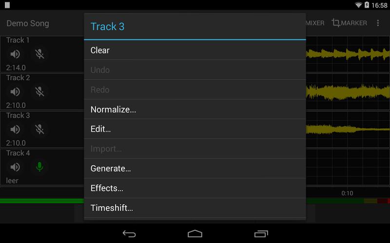 Aubade Audio Studio Screenshot 9