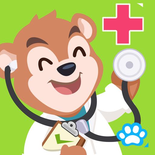 Uncle Bear Hospital Kids Game