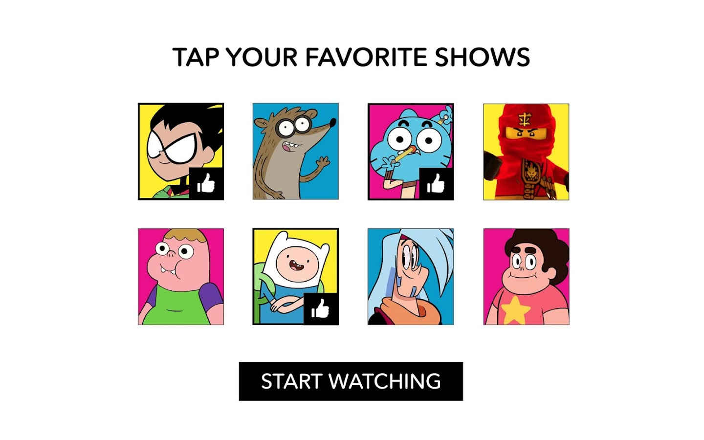 Cartoon Network App- screenshot