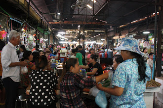 Photo: Year 2 Day 42 - Siem Reap Market, Cafe Area