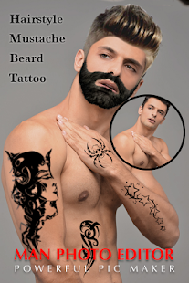 Man Tattoo Hairstyle Editor Android Apps On Google Play - Hairstyle edit app
