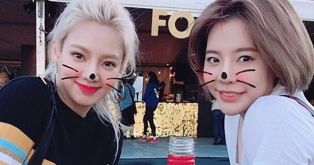 girls generation hyoyeon sunny