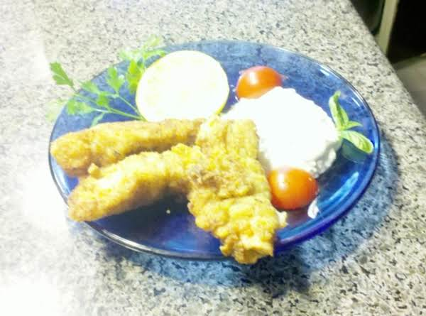 Spicy Chicken Fingers With Feta/blue Cheese Dip Recipe