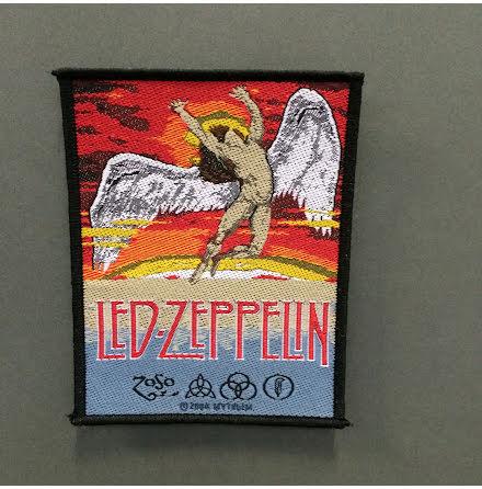 Led  Zeppelin - Swan .- Tygmärke