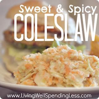 Sweet & Spicy Coleslaw Recipe