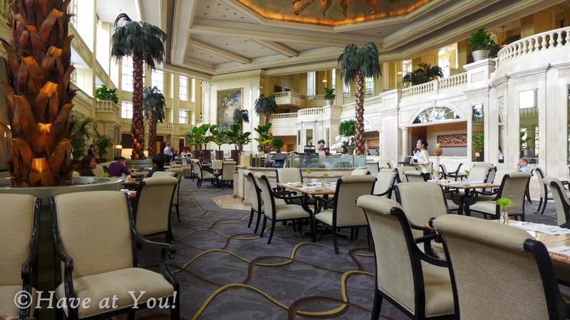 The Lobby dining area