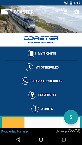 COASTER Mobile Tickets