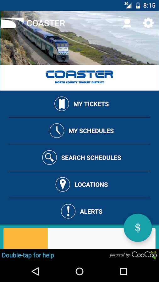 COASTER Mobile Tickets- screenshot