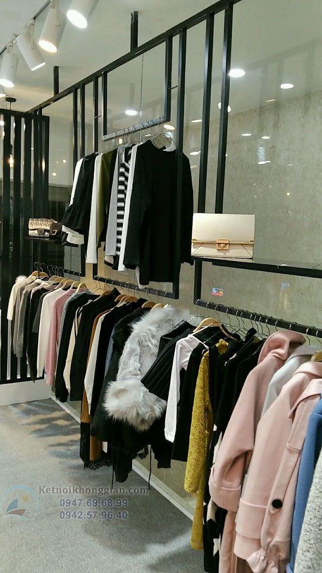 thi công shop thời trang đơn giản và nhanh