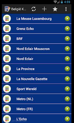 android actualités belgique - Press Screenshot 1