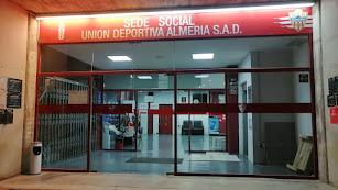 Sede social del Almería en el Estadio de los Juegos Mediterráneos.