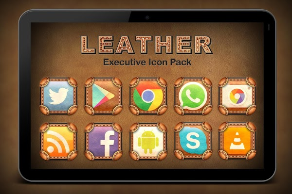 Leather Executive Icon Pack v1.1.0