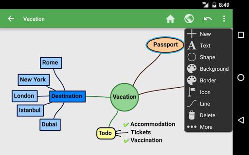 SchematicMind Free mind map screenshot 9