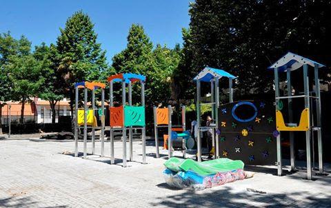 Câmara de Lamego renova parque infantil