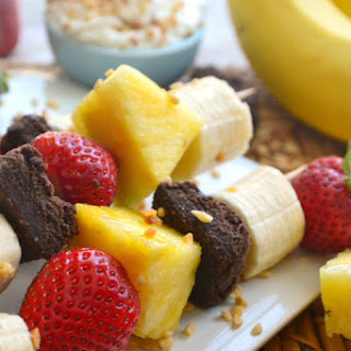 Banana Split Kabobs.