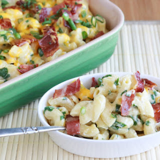 Bacon and Spinach Mac and Cheese Recipe