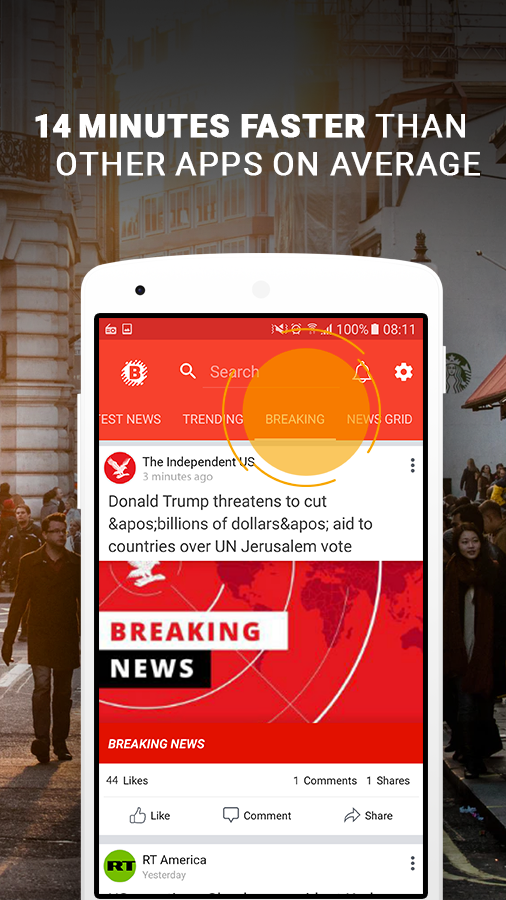 Breaking News Premium Screenshot 3