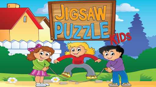 jigsaw puzzles kids : boy girl