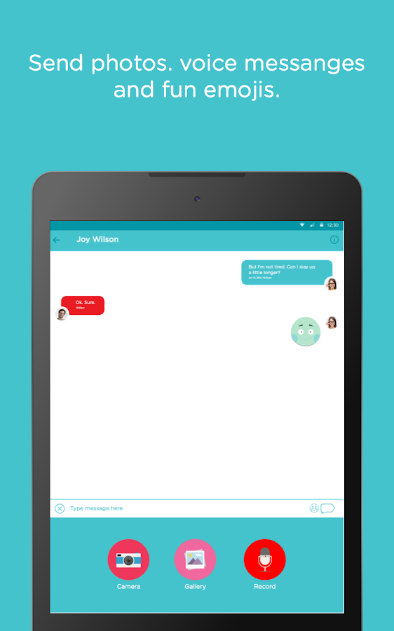PLAYMessenger - Kids Safe Chat- screenshot