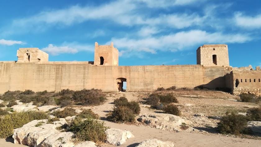 Muralla de Jayrán incluida dentro de la Lista Roja