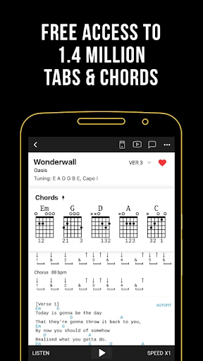 Ultimate Guitar: Chords & Tabs 5.4.6 screenshots 2