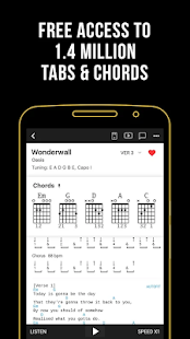 Ultimate Guitar: Chords & Tabs Mod