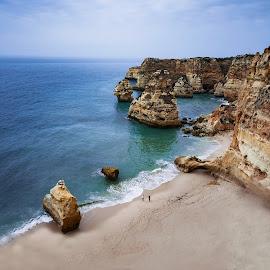 Praia da Marinha, Algarve, Portugal by Paweł Mielko - Landscapes Beaches ( landscapes, landscape photography, portugal, summer, sea, beaches, seascape, ocean, ocean view, beach, marinha, algarve, summertime, landscape,  )