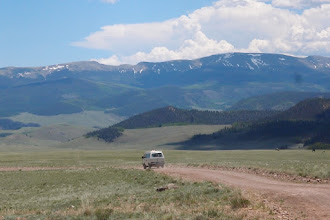 Photo: This is Saguache Park--about 10 mi X 10 mi, with only a single summer road into it--an unknown hole in Colorado!