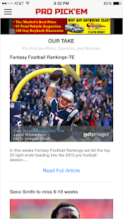 Pro Pick'em- screenshot thumbnail