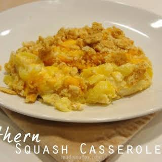 Southern Squash Casserole.