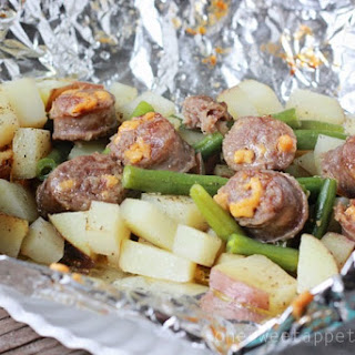 Italian Sausage and Potato Tin Foil Dinner