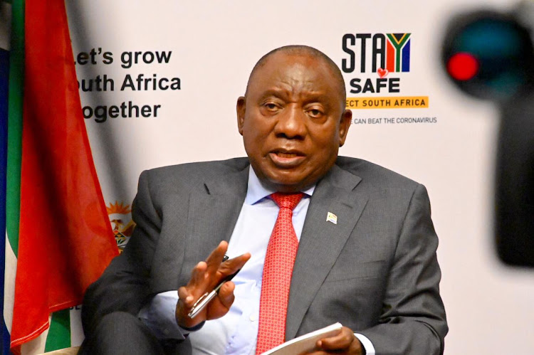 President Cyril Ramaphosa says if the world is to emerge from this grave crisis, it is essential we work together to mobilise and direct resources to those countries in greatest need. File photo.