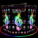 Hologram Neon Music theme icon