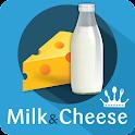 Milk & Cheese recipes icon