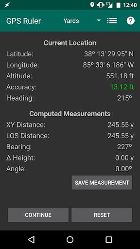 GPS Ruler