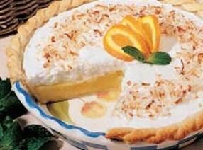 Frosted Orange Pie Recipe